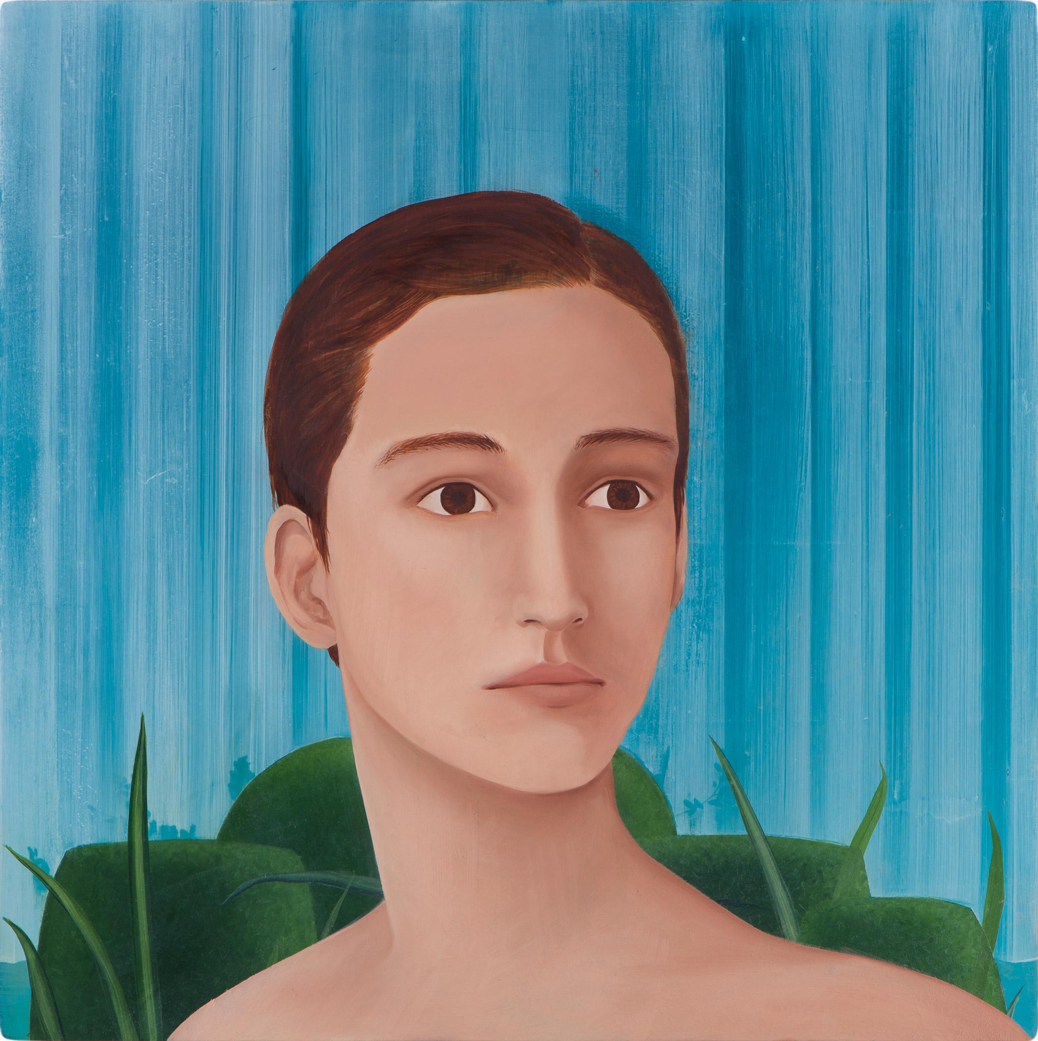 Untitled/40 x 40 cm, Oil on wood/2019