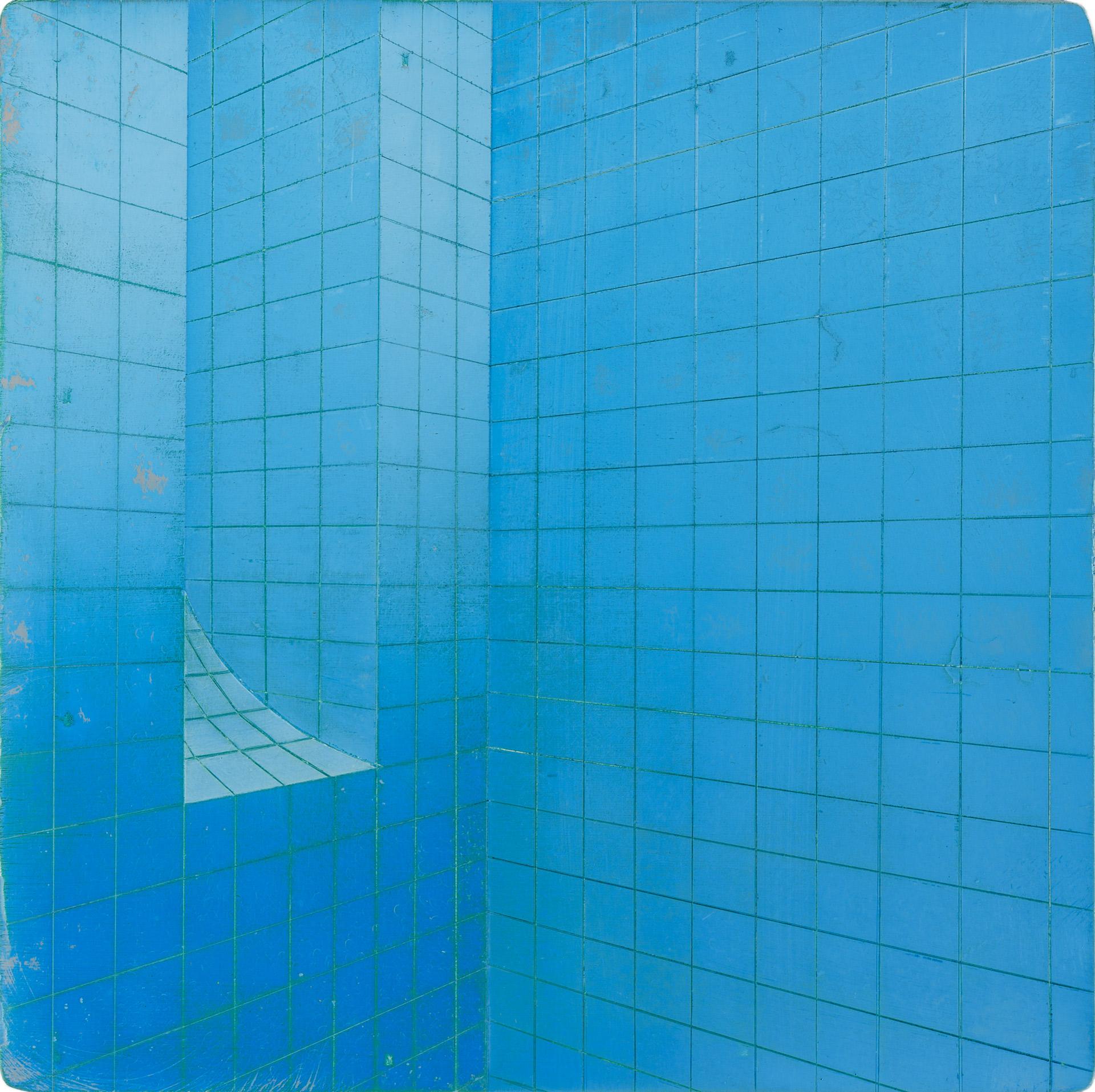 Untitled/20 x 20 cm, Oil on wood/2019