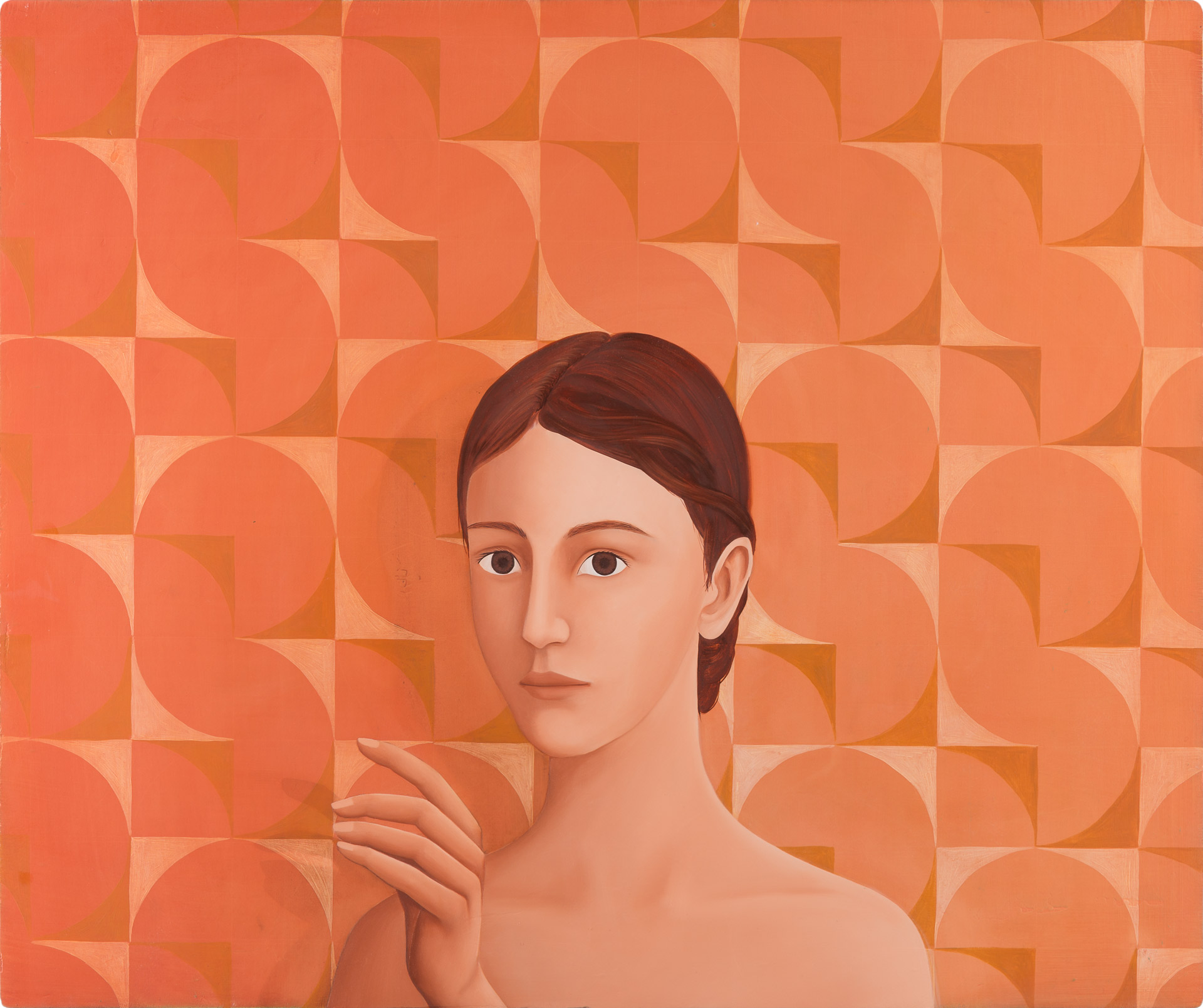 Untitled/50 x 60 cm, Oil on wood/2019