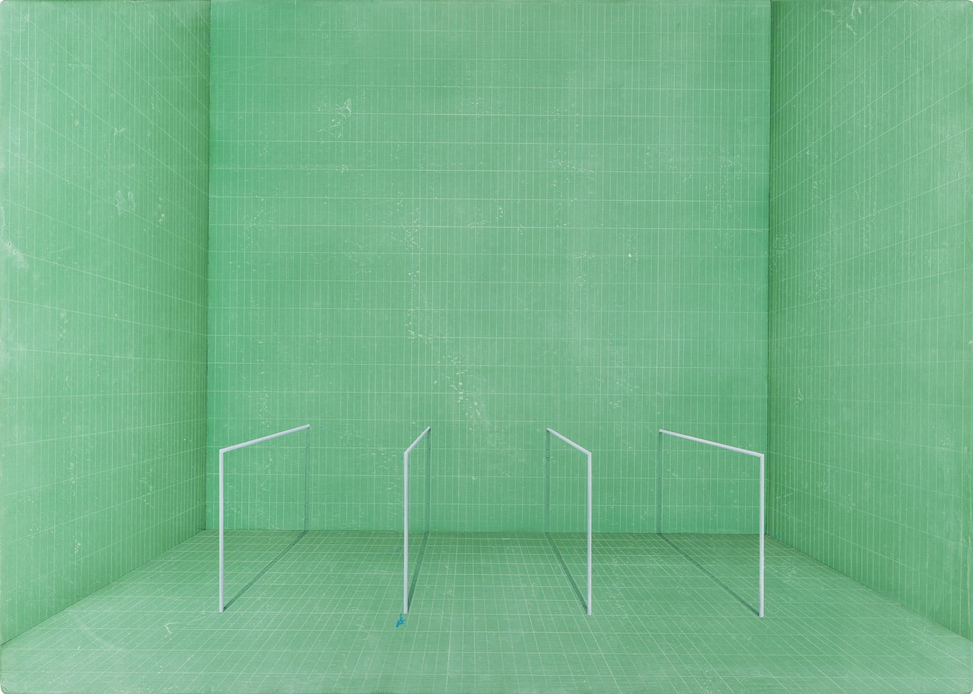 Untitled/50 x 70 cm, Oil on wood/2019