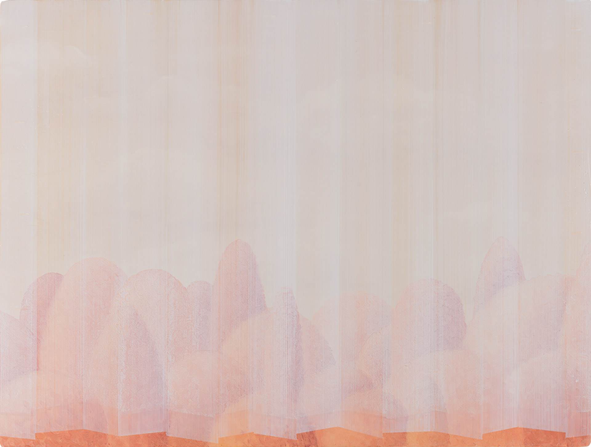 Untitled/30 x 40 cm, Oil on wood/2019