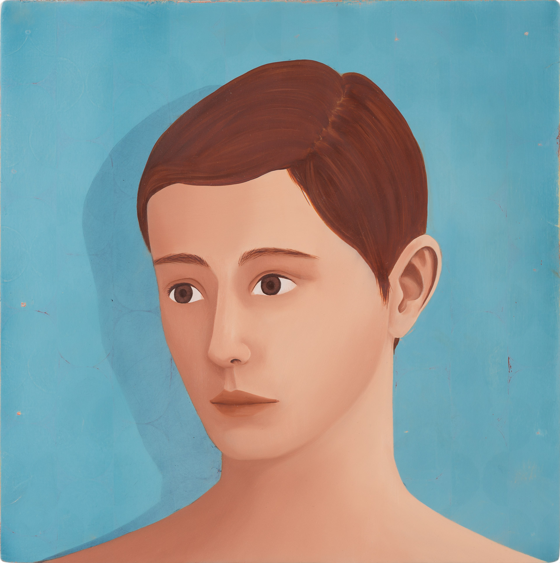 Untitled/30 x 30 cm, Oil on wood/2019
