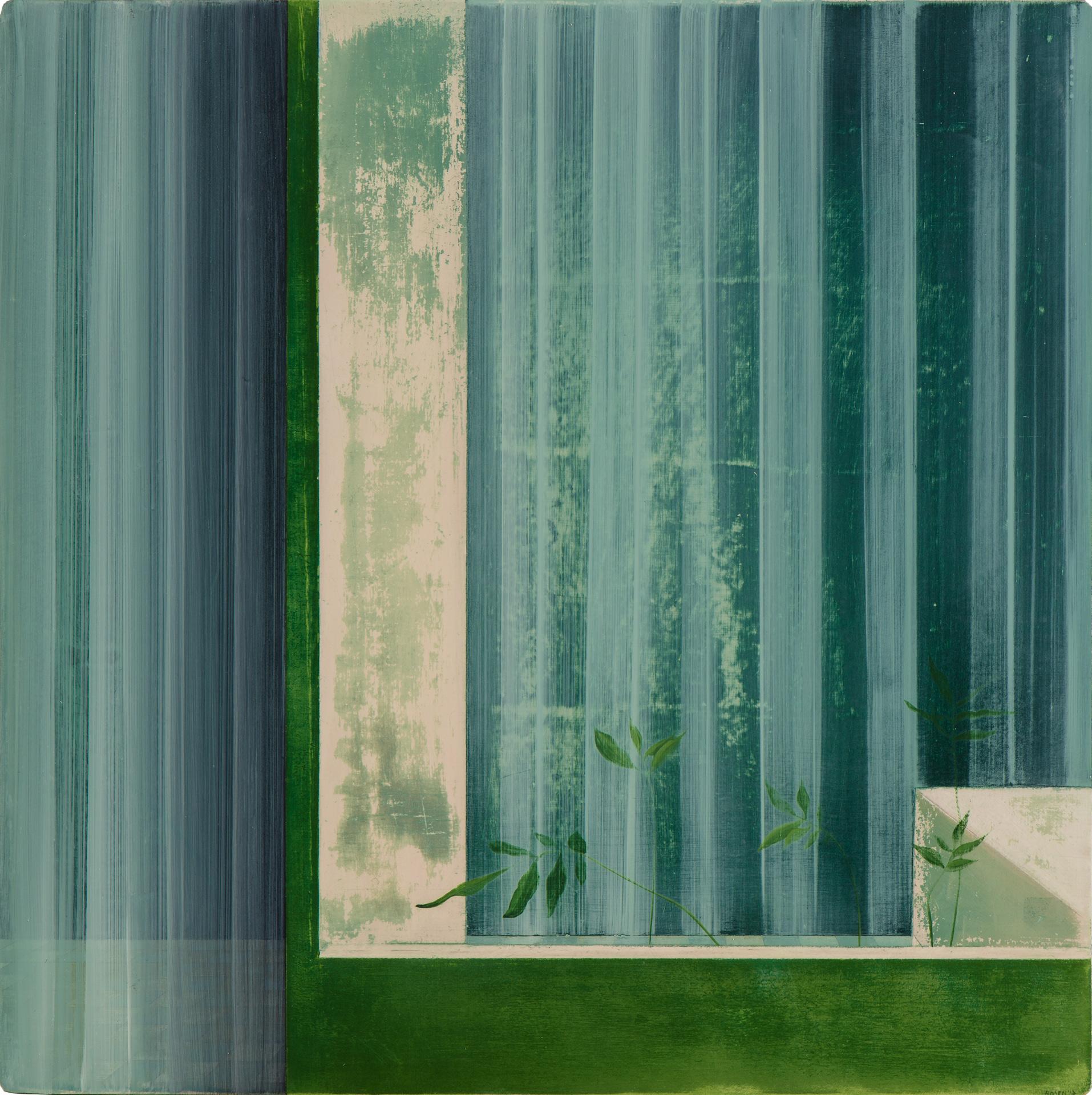 Untitled/30 x 30 cm, Oil on wood/2017