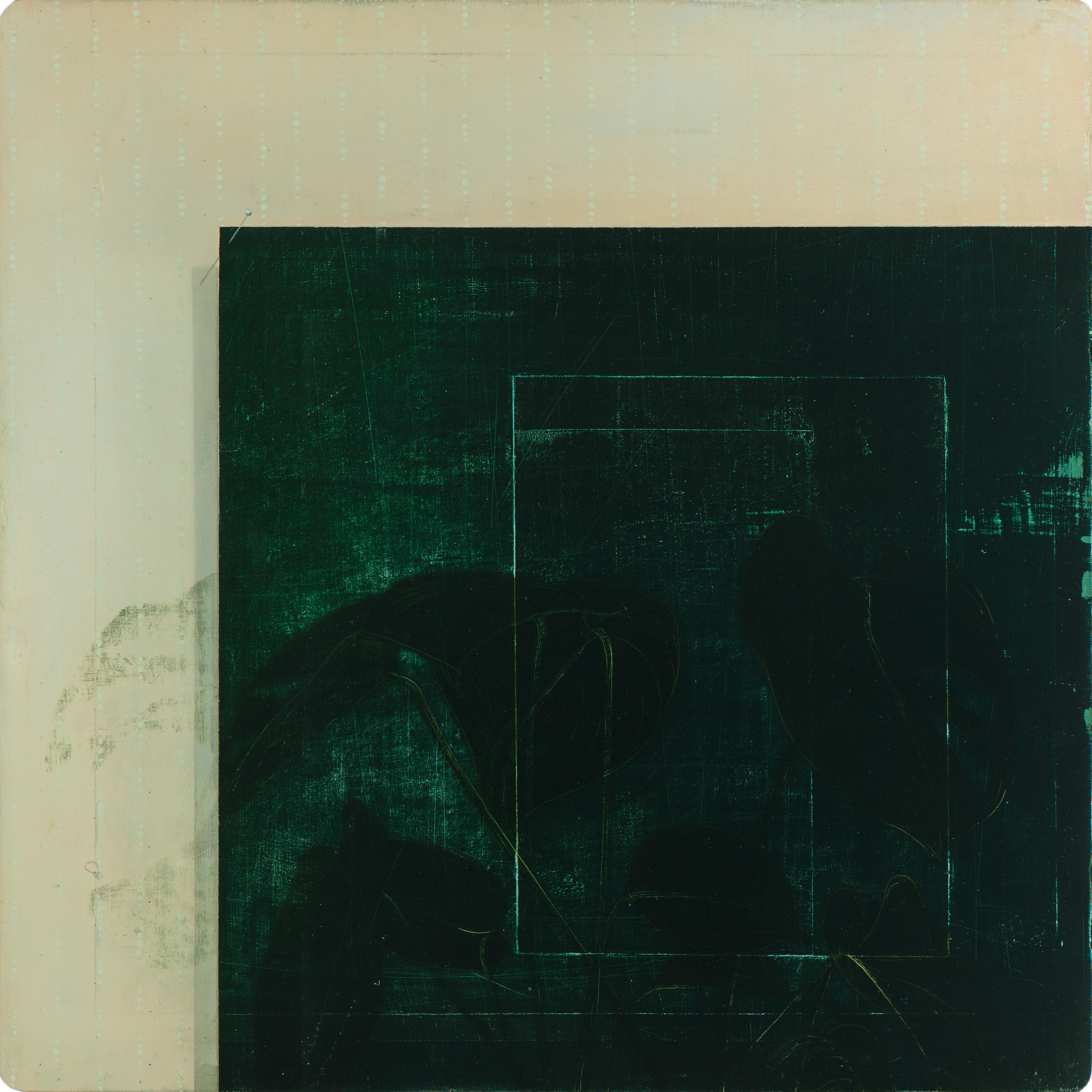 Untitled/40 x 40 cm, Oil on wood/2017