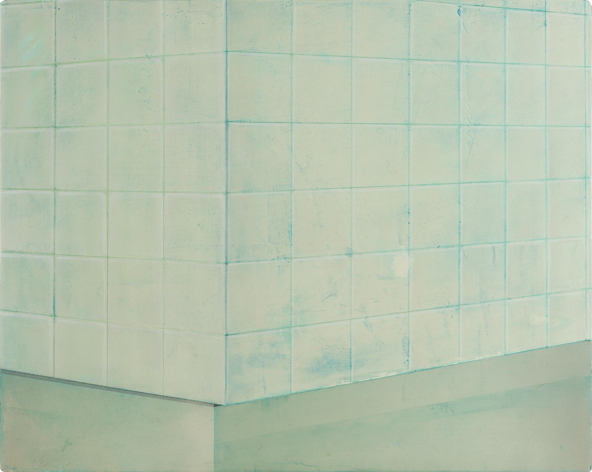 Untitled/50 x 60 cm, Oil on wood/2017