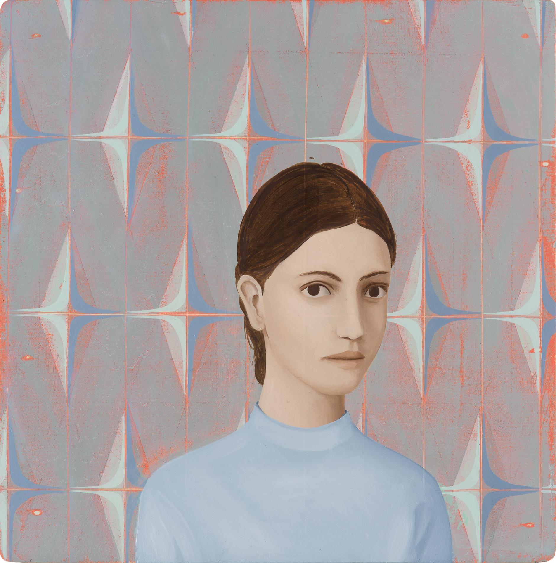 Untitled/20 x 20 cm, Oil on wood/2017