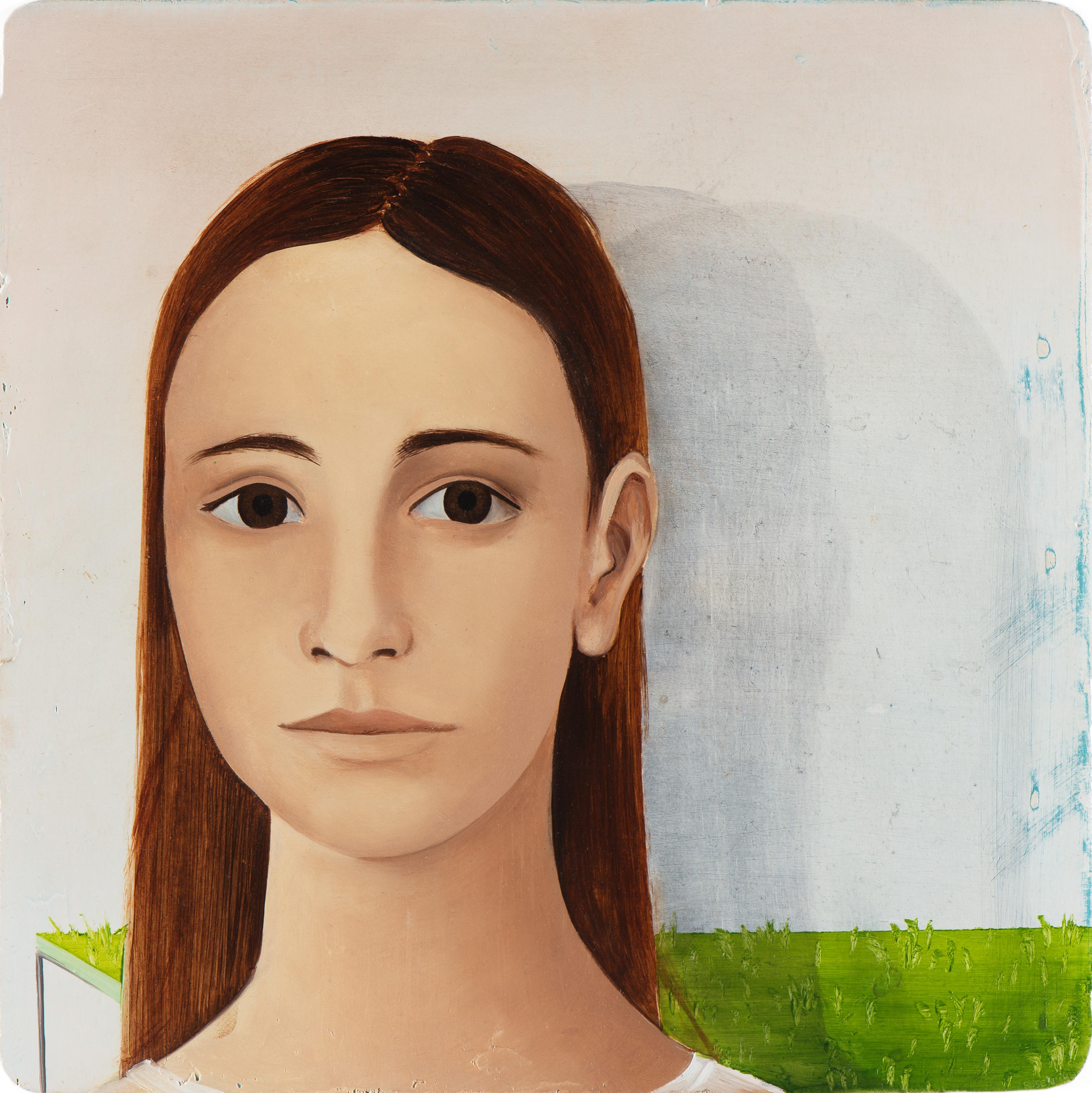 Untitled/20 x 20 cm, Oil on wood/2016