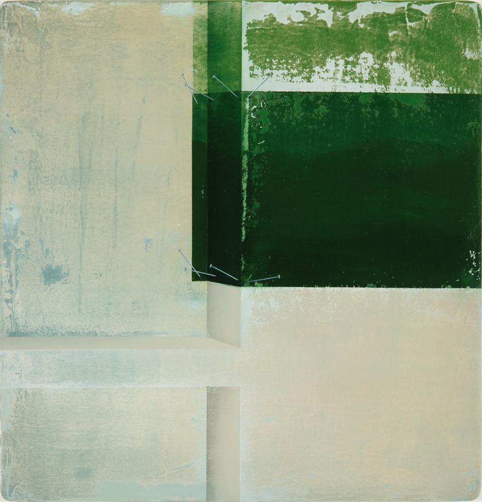 Untitled/40 x 40 cm, Oil on wood/2016