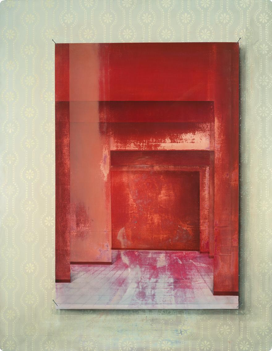 Untitled/90 x 70 cm, Oil on wood/2016